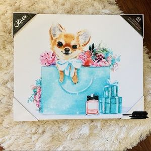 Pomerian in a Tiffany & Co. Bag